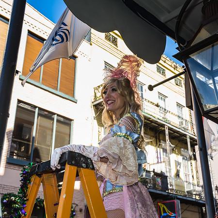Mardi Gras Parades New Orleans, Louisiana 2016