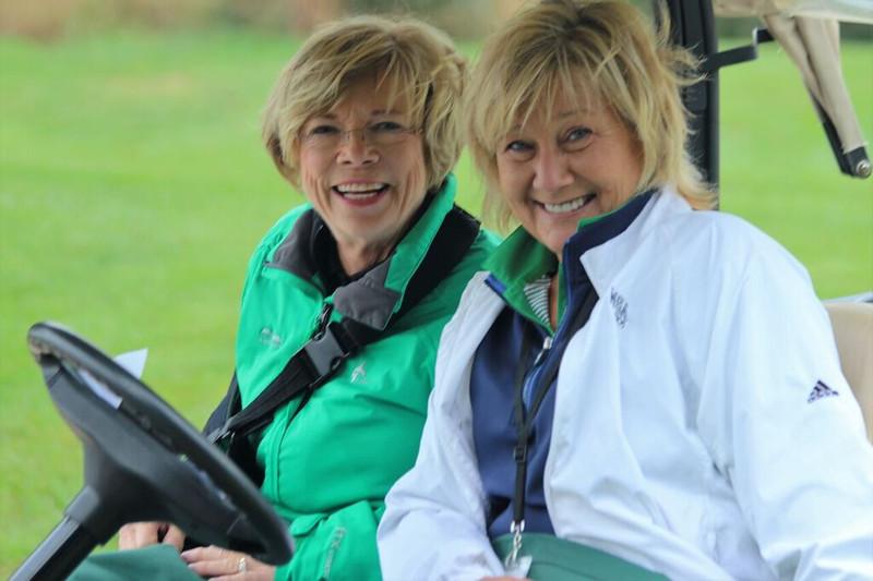 Nancy Sebastian and Karen Raithel