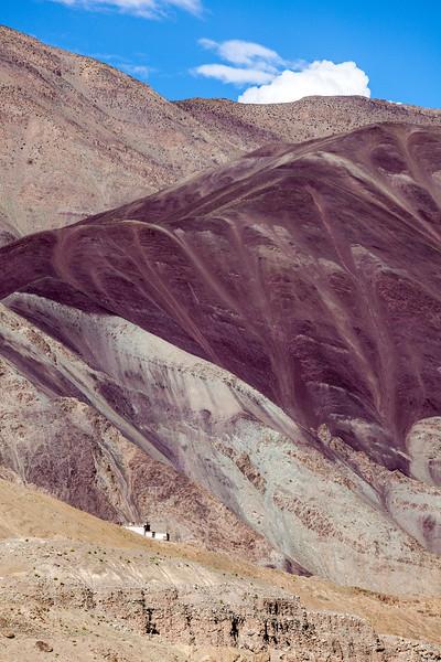House in Himalayas, Ladakh, India