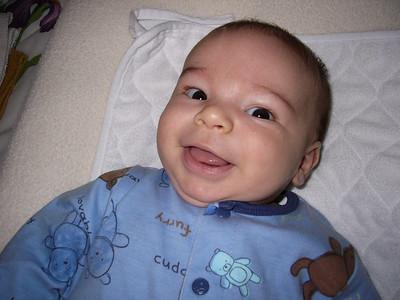 Joe's first visit to AZ: 8 weeks old!