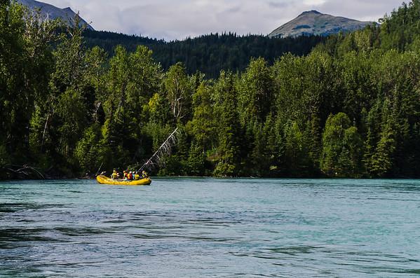 Cooper Landing Rafting - 2013