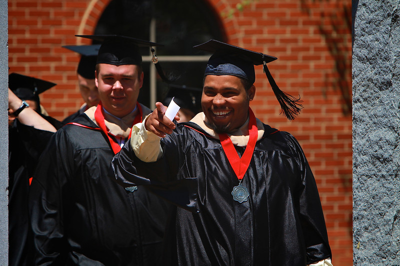 Spring Semester Commencement 2013, GOAL and Select Graduate Programs; 3pm Ceremony.