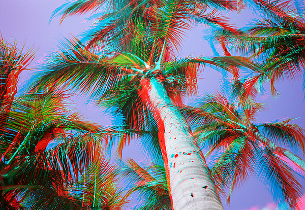 Hawaii in 3D - Anaglyph (requires glasses!)