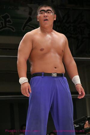 Don Fujii, Ryotsu Shimizu vs. Yosuke♡Santa Maria, Yuga Hayashi