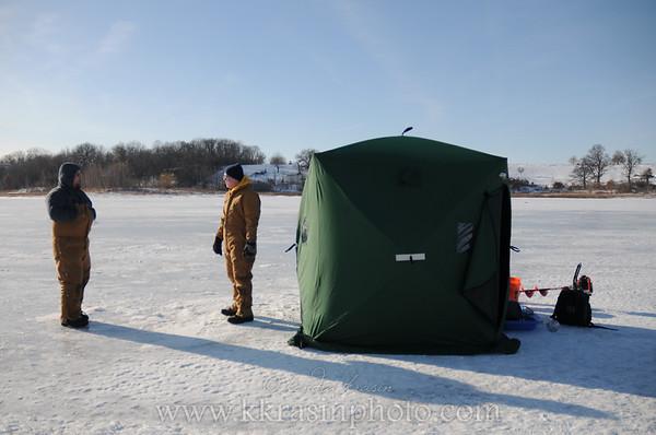 Nick & Paul's Ice Fishing Adventure