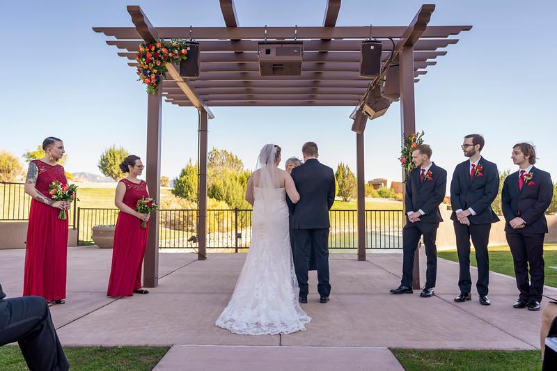 Sandia Hotel Casino New Mexico October Wedding Ceremony C&C-38.jpg