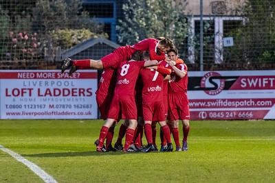 1874 Northwich FC (h) W 3-0 *