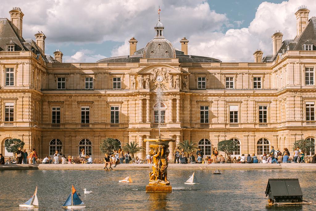 到巴黎攝影 盧森堡公園 Parc de Luxembourg by Wilhelm Chang 張威廉
