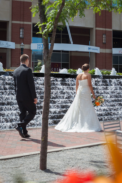 Katie & Andrew's wedding day at the Hilton 6.14.14