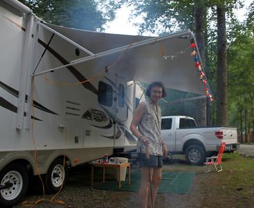 Yogi bear campground in Smokie Mountains