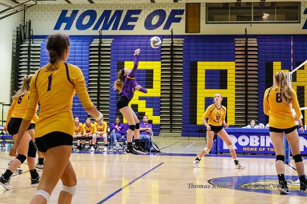 Varsity Volleyball v Robinson 9/11/18