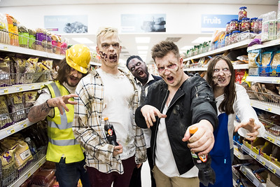 25/10/19 - Fanta Halloween zombie prank 2019 featuring Caspar Lee and Oli White