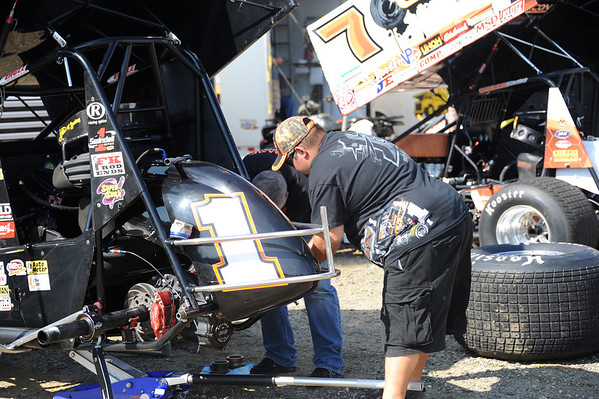 World of Outlaws at New Egypt Speedway