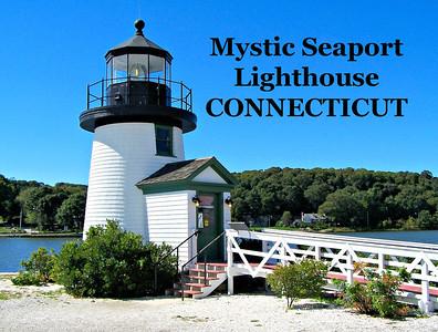 Mystic Seaport Lighthouse, Connecticut