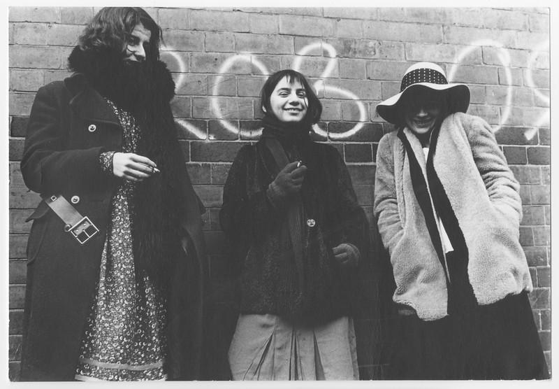 Cast members of New Theatre, University of Nottingham, 1975