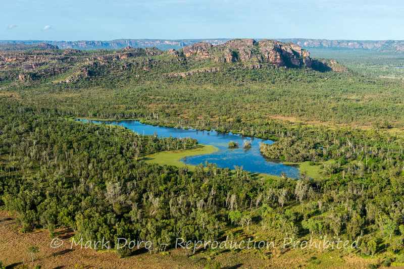 Kakadu from the air, Northern Territory