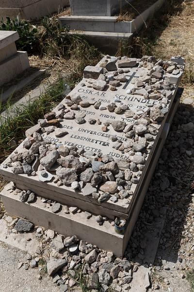 Oskar Schindler's tomb