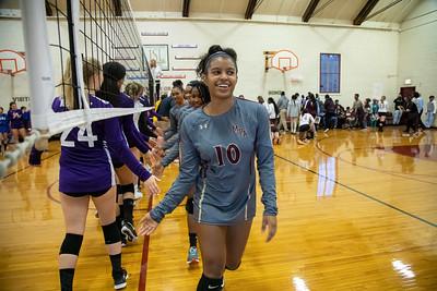 Upper School Girls Volleyball 2019