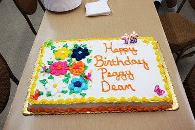 Wallace Hardware Celebrates Peggy Dean's 75th Birthday