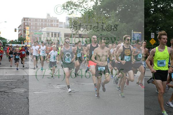 Dart for Art 16 Jul 2018 Community Race Start