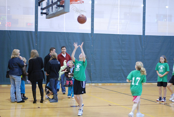 2010-01-09 Girls Basketball - South Portland Rec