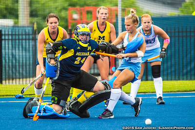 8-29-15 Michigan Field Hockey Vs North Carolina