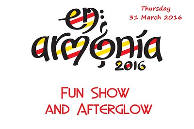 2016-0331 SABS -Thursday's Funshow & Afterglow
