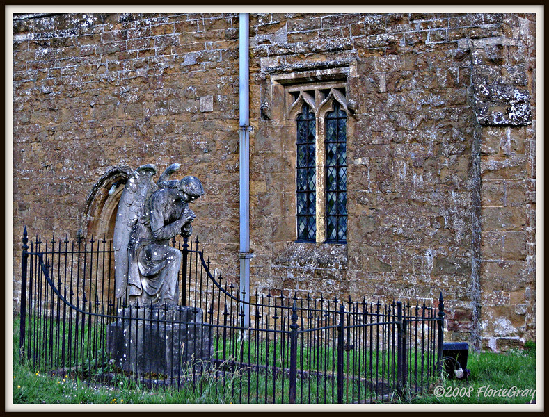 Mourning Becomes the Angel  Wroxton, Oxfordshire  ©2008 FlorieGray
