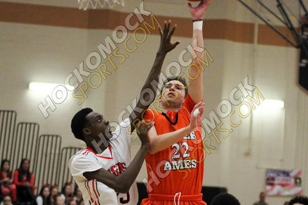 Oliver Ames-Taunton Boys Basketball - 02-14-17