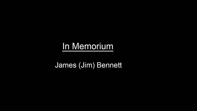 In Memorium James Bennett