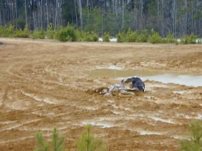 Dirt Bikin - Industrial Park - 2/13/2005