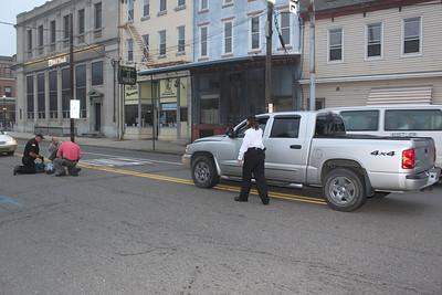 Pedestrian Struck, Center St, Tamaqua (9-21-2011)