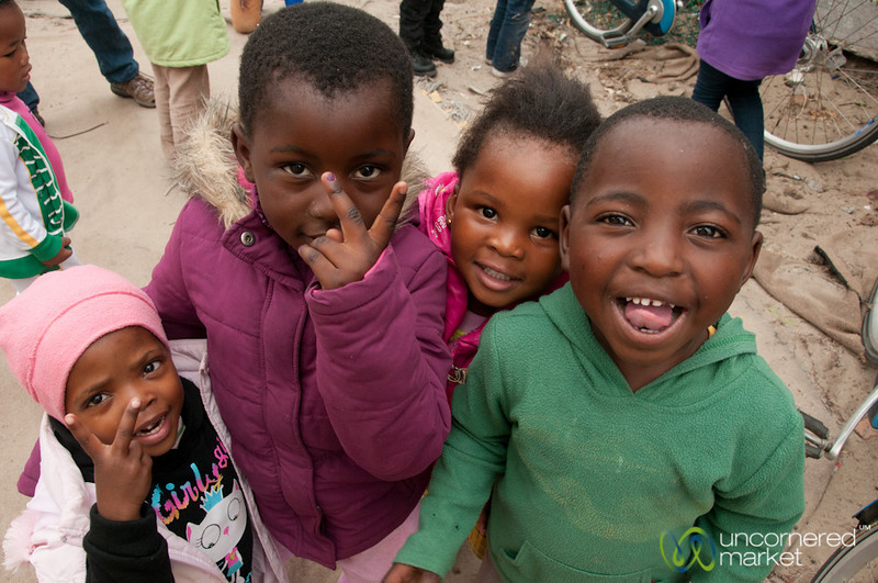Masiphumelele Township Kids - Cape Town, South Africa