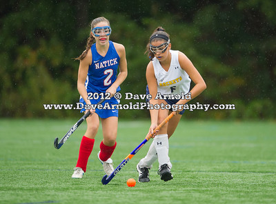 9/28/2012 - Varsity Field Hockey - Natick vs Needham
