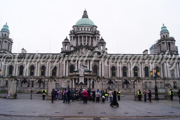 City Hall Protest 19.01.13