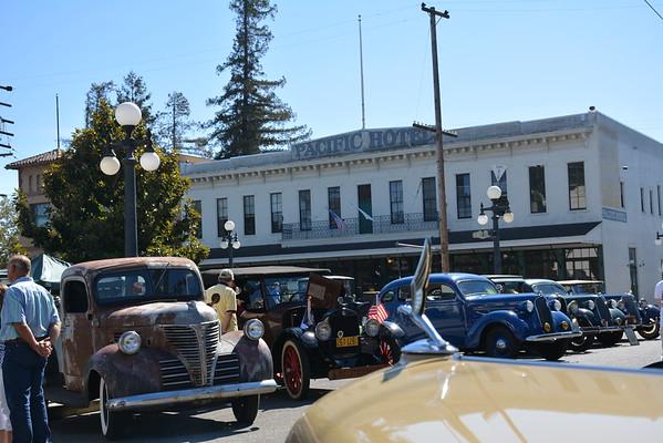 Antique Autos in History Park 2018