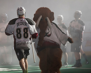 Colorado Mammoth vs Vancouver Stealth - Jan. 4, 2014