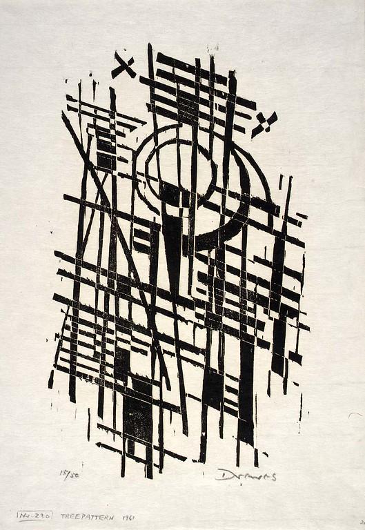 "Werner Drewes, ""Tree Pattern"" (1968)"