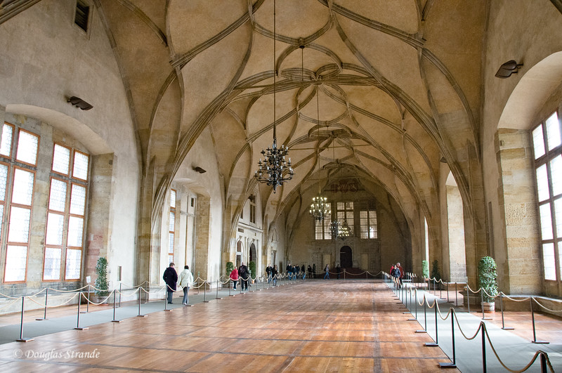 Room used for Royal events at Prague Castle
