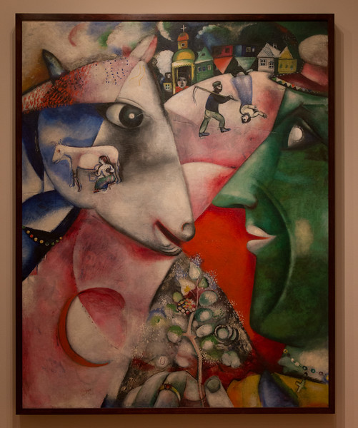 "Marc Chagall, ""I and the Village"" (1911), oil on canvas -- Museum of Modern Art (MoMA), New York"