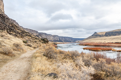 Snake River Canyon Hike with Justin