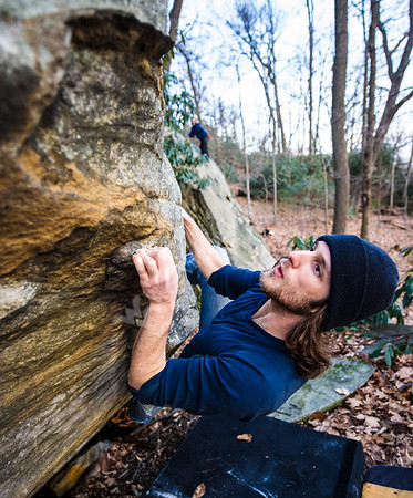30416 Coopers Rock WVU Rock Climbing December 2014