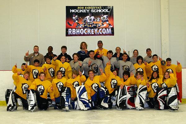 RB Hockey Goalie Camp August 10, 2007