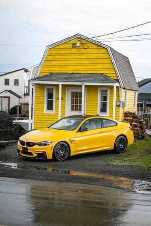 BMW M4 Road Trip