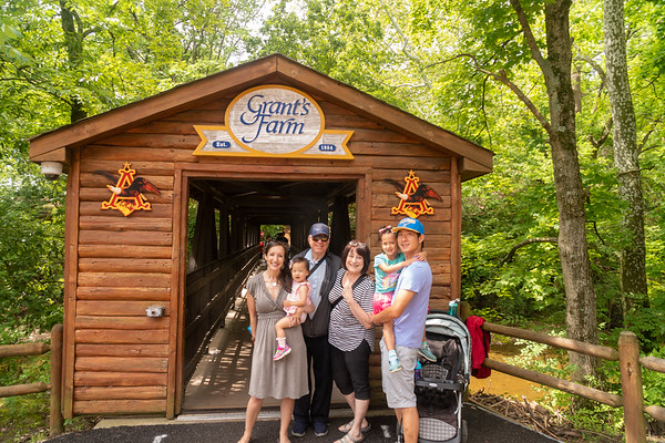 Father's Day Grant's Farm 6-2019