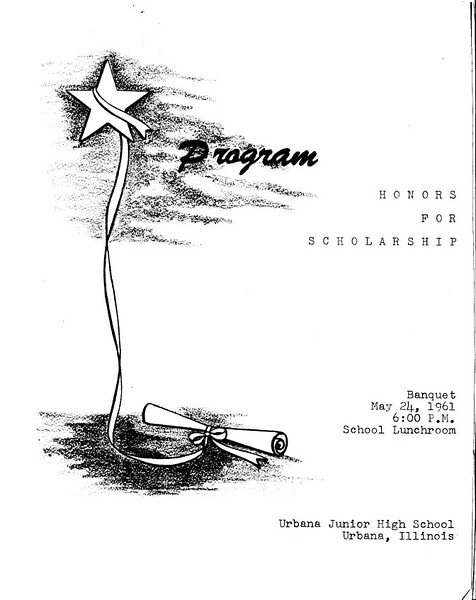Honors Banquet 1961