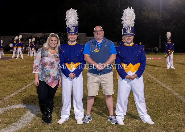 Broughton varsity football vs Cardinal Gibbons. Band and Dance Team Senior Night. October 25, 2019. MRC_3734
