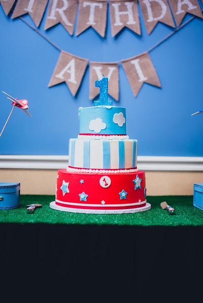 Avi's First Birthday