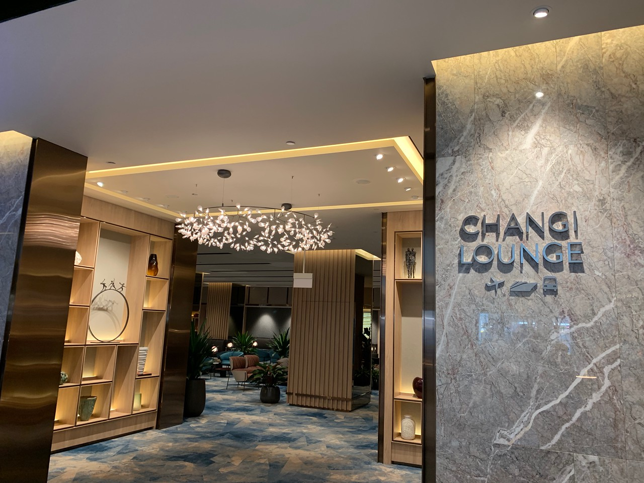 Changi Lounge, Jewel Changi Airport Singapore