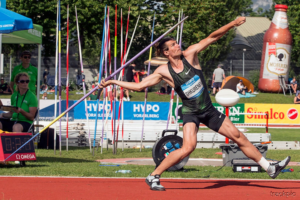 Hypomeeting 2018, Decathlon Javelin